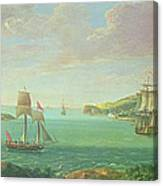 Mount Edgcumbe Canvas Print