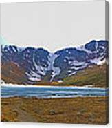 Mount Evans And Summit Lake Canvas Print