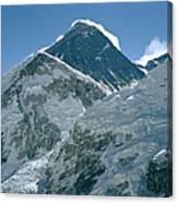 Mount Everest Morning Canvas Print