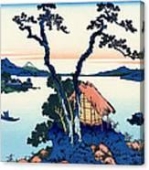 Mount Fuji Tranquility Canvas Print