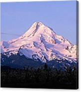 Mount Hood Oregon Canvas Print