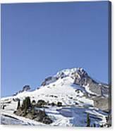 Mount Hood Oregon Panorama Canvas Print