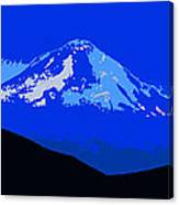 Mount Hood Panoramic Canvas Print