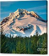 Mount Hood Winter Canvas Print