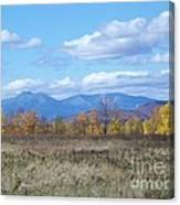 Mount Katahdin From Stacyville Canvas Print