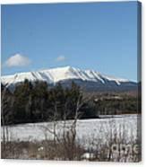 Mount Katahdin Winter 3 Canvas Print