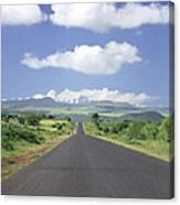 Mount Kenya Canvas Print