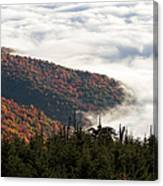 Mount Mitchell Morning Canvas Print