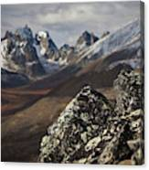 Mount Monolith From Grizzly Lake Canvas Print