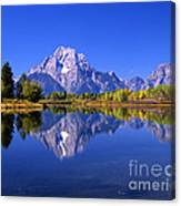 Mount Moran Afternoon Light Canvas Print
