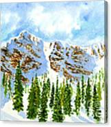 Mount Ogden Canvas Print