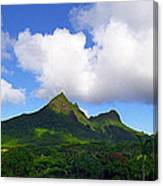 Mount Olomana Hawaii Canvas Print