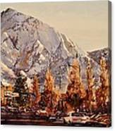 Mount Olympus Canvas Print