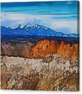 Mount Princeton Canvas Print