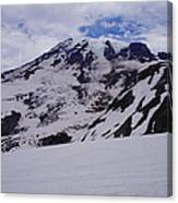 Mount Rainer In The Clouds Canvas Print