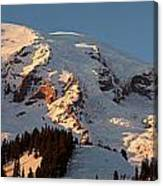 Mount Rainier Alpenglow Canvas Print