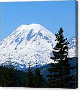 Mount Rainier Panorama Canvas Print