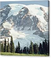 Mount Rainier Peak Canvas Print