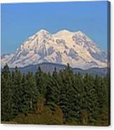 Mount Rainier Washington Canvas Print