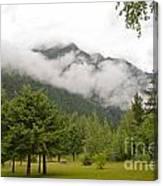 Mount Robson Provincial Park Canvas Print