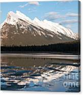 Mount Rundle Reflections Canvas Print