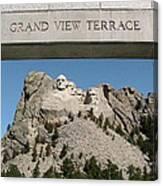 Mount Rushmore 3 Canvas Print