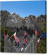 Mount Rushmore National Memorial Canvas Print