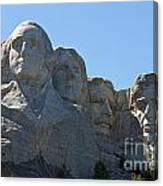 Mount Rushmore National Monument Canvas Print
