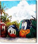 Mount Rustmore Castaway Cay Canvas Print