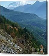 Mount Saint Helens Majesty Canvas Print