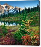 Mount Shuksan Fall Cornucopia Canvas Print