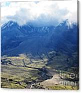 Mount St. Helen's Cloud Kissed Canvas Print