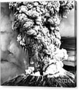 Mount St Helens Eruption Canvas Print