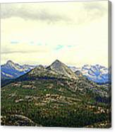 Mount Starr King Canvas Print