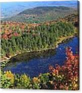 Mount Sunapee Lake Solitude Fall Foliage Canvas Print