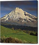 Mount Taranaki Western Flanks New Canvas Print