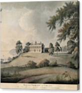 Mount Vernon, 1800 Canvas Print