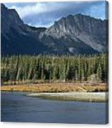 Mount Yamnuska Canvas Print