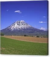 Mount Yotei Volcano Hokkaido Canvas Print