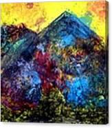 Mountain 120928-2 Canvas Print