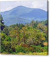 Mountain And Valley Near Brevard Canvas Print