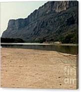 Mountain At Big Bend Canvas Print