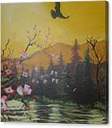 Mountain Bliss Canvas Print