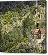 Mountain Cabin - Sierra Nevadas, California Usa Canvas Print