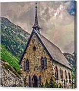 Mountain Chapel Canvas Print