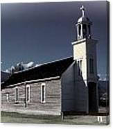 Mountain Church Canvas Print