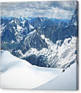 Mountain Climbers Canvas Print