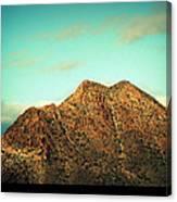 Mountain Face Canvas Print