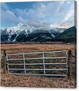 Mountain Farmers Canvas Print