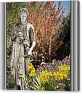 Mountain Gardener Canvas Print